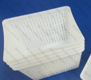 Прямоугольная форма для сыра Anelli Lodi для Рикотты и творога на 1000/1500 гр.