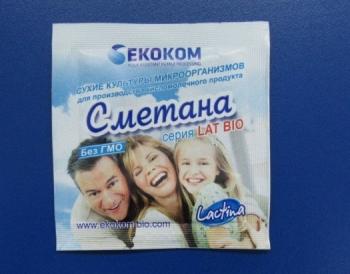 """Закваска """"Сметана"""" Lactina (пакет 1 гр.)"""