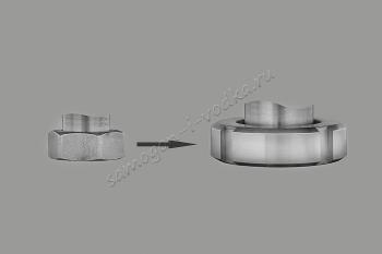 Замена одного соединения ХД/4 на молочную муфту ДУ40 (ХД/3)