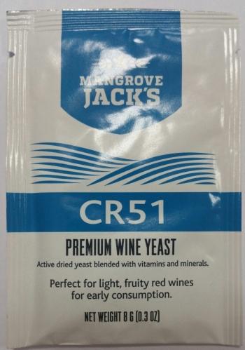 Винные дрожжи Mangrove Jack - CR51, шт