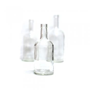 Бутылка Домашний Самогон, 0,5 л (под пробку камю 19,5)(без пробки)