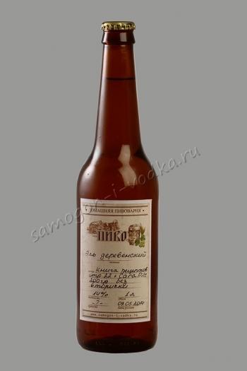 Универсальная этикетка для домашнего пива УЭДП-Б  (50шт)
