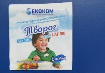 """Закваска """"Творог"""" Lactina (пакет 1 гр.)"""