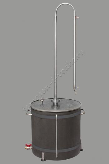 """Дистиллятор прямоточный ХД/ кламп """"2"""" -3000"""