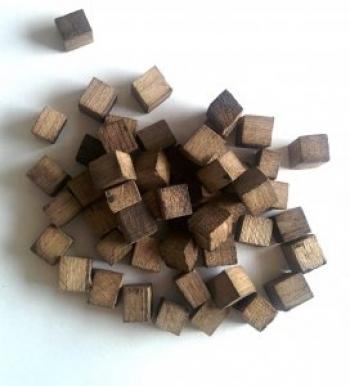 Дубовые кубики для настаивания, сильный обжиг 50 гр