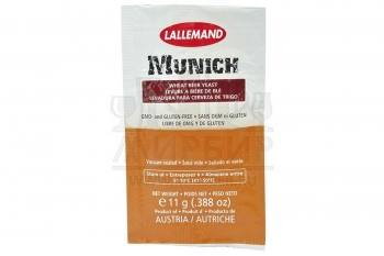 ДРОЖЖИ LALLEMAND MUNICH WHEAT BEER, 11 Г