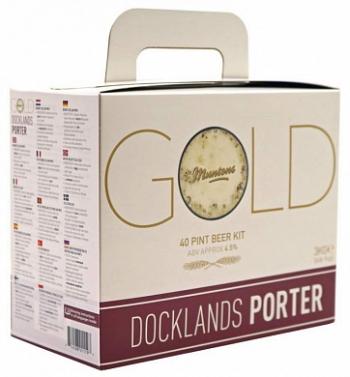 """Солодовый экстракт Muntons """"Docklands Porter"""", 3 кг"""