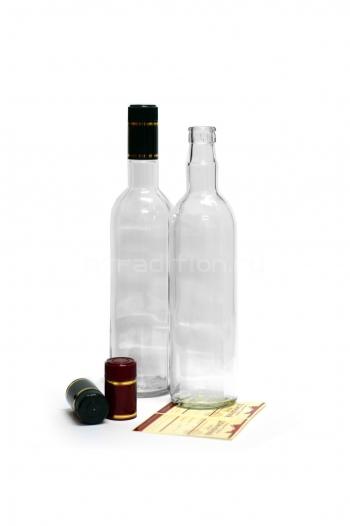 Бутылка Гуала -500мл. (под колпачое Гуала 58 мм)  с пробкой (дозатор) в комплектк